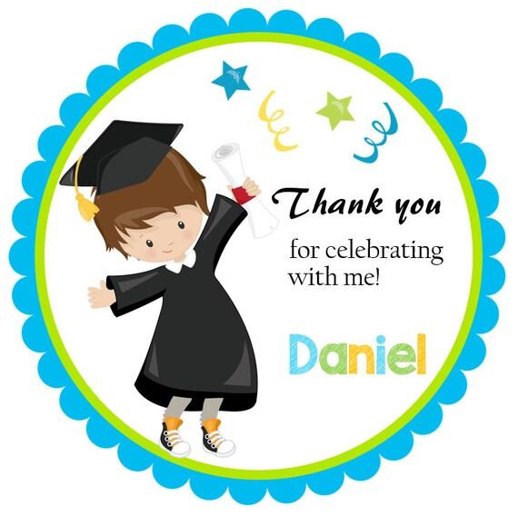 printable graduation favor tags digital graduation thank you etsy