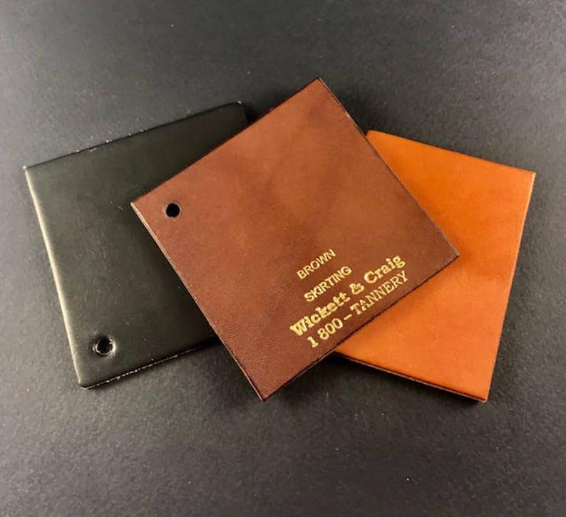 Handmade Leather SlimMinimalist Wallet by Tooled Metals on Etsy