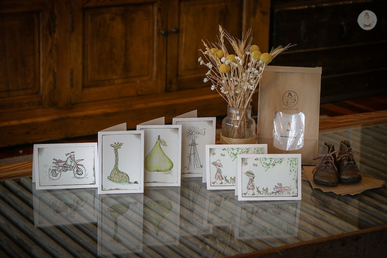 Little Card Packs  Illustrated Greeting Cards  Farmyard image 0
