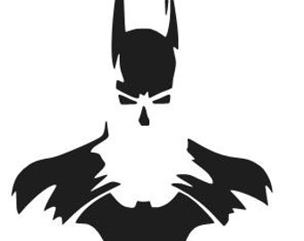 More Colors BATMAN Silhouette Logo