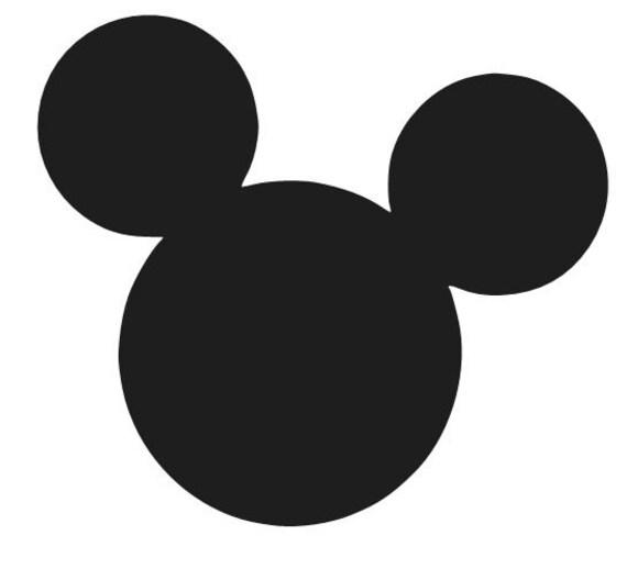 Car Phone Window Laptop Wall Disney Mickey Mouse Ears Decal Sticker Vinyl