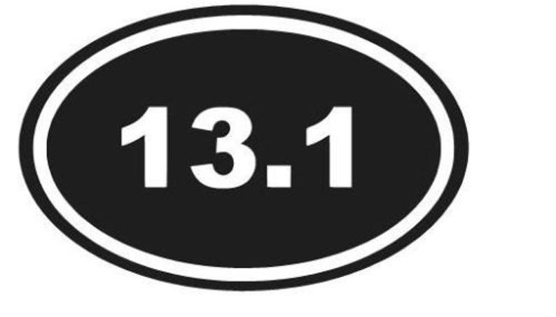 Number 13 Vinyl Car Window Laptop Decal Sticker