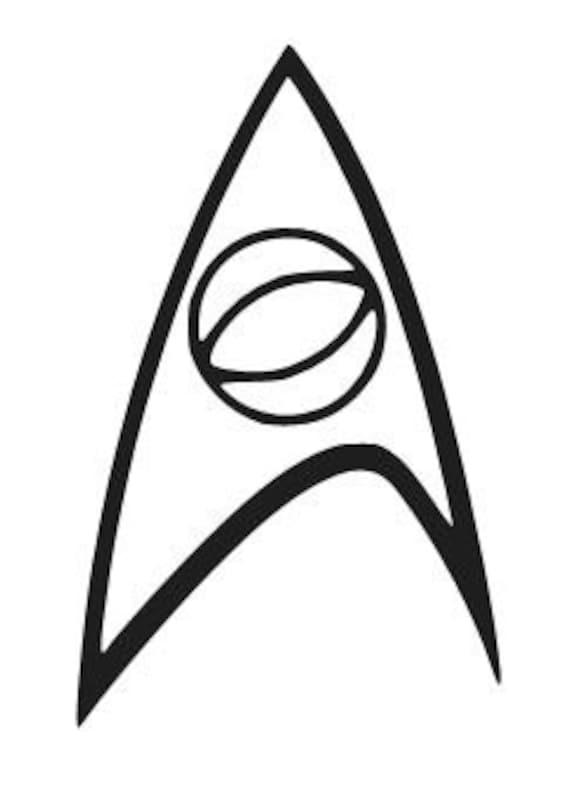 Star Trek Starfleet Symbol Logo Car or Truck Window Laptop Decal Sticker