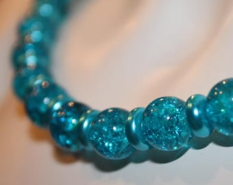 blue pearl necklace, blue pearl jewelry, blue beaded necklace, blue beaded jewelry, jewelry blue pearl, necklace blue pearl, necklace blue