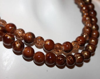 Brown pearl necklace, brown pearl jewelry, brown beaded jewelry, brown beaded necklace, necklace brown pearl, jewelry brown pearl, brown