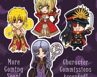 Fate/Series Keychains