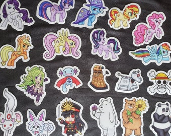 Stickers (Various Fandoms)