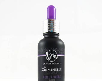 Beard oil and Aftershave oil La Criminelle- Gift for him