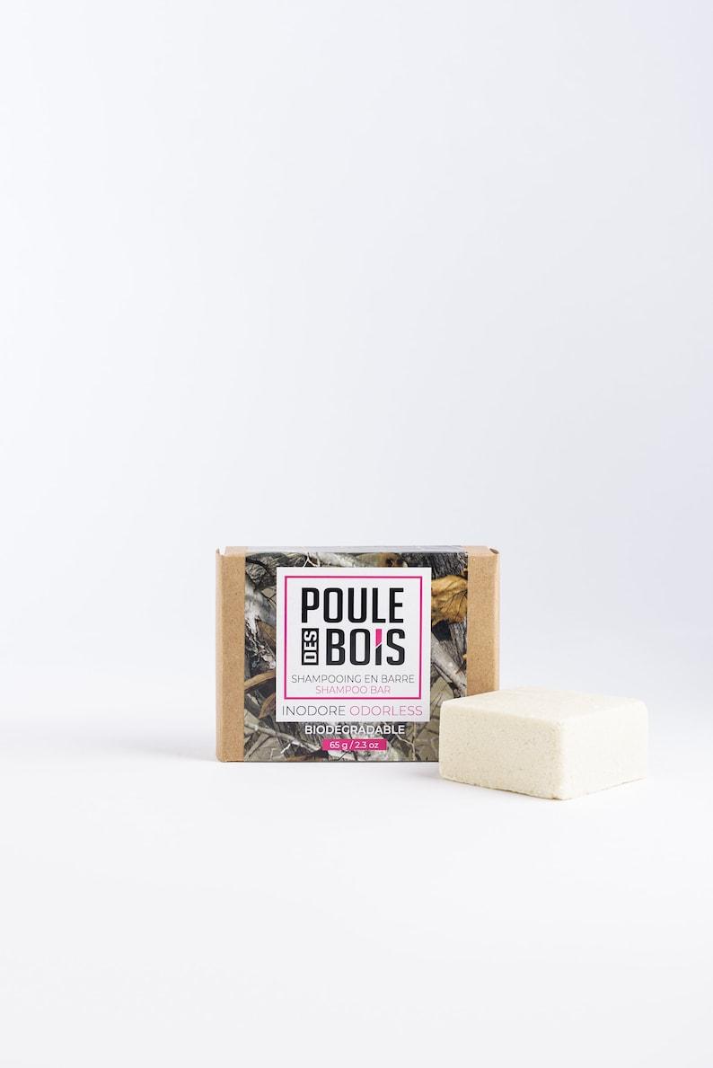 odorless shampoo bar Poule des Bois image 0