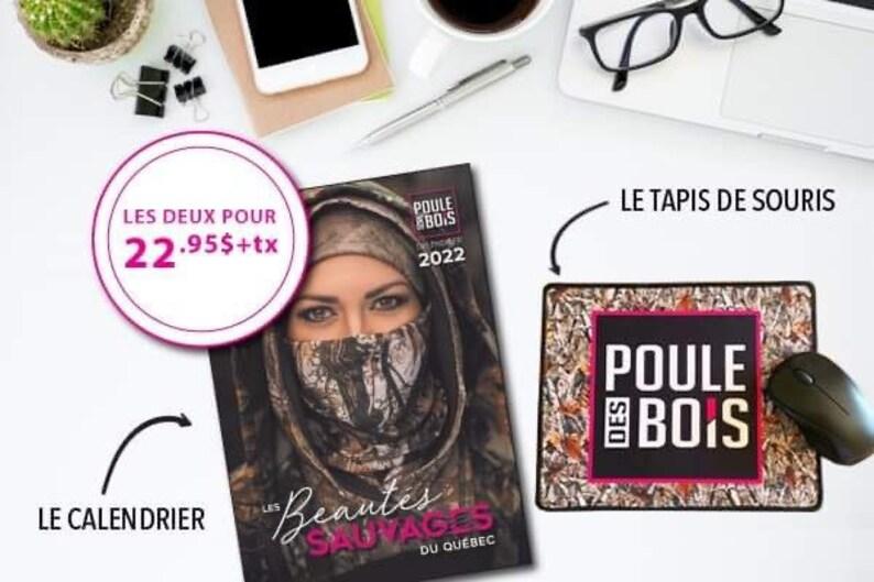 DUO Promo Calendrier 2022 les Beautés sauvages du Québec et le image 1