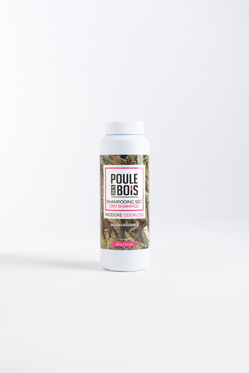 dry shampoo-Poule des Bois Odorless-Hunting-Camping Fishing image 0
