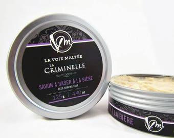 Beer Shaving La Criminelle - gift for him