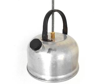 Ceiling Lamp, Small Kettle Pendant Light, Kitchen Lighting, Vintage decor, Lighting Fixture, Pendant lighting, Vintage Teapot, Decor light
