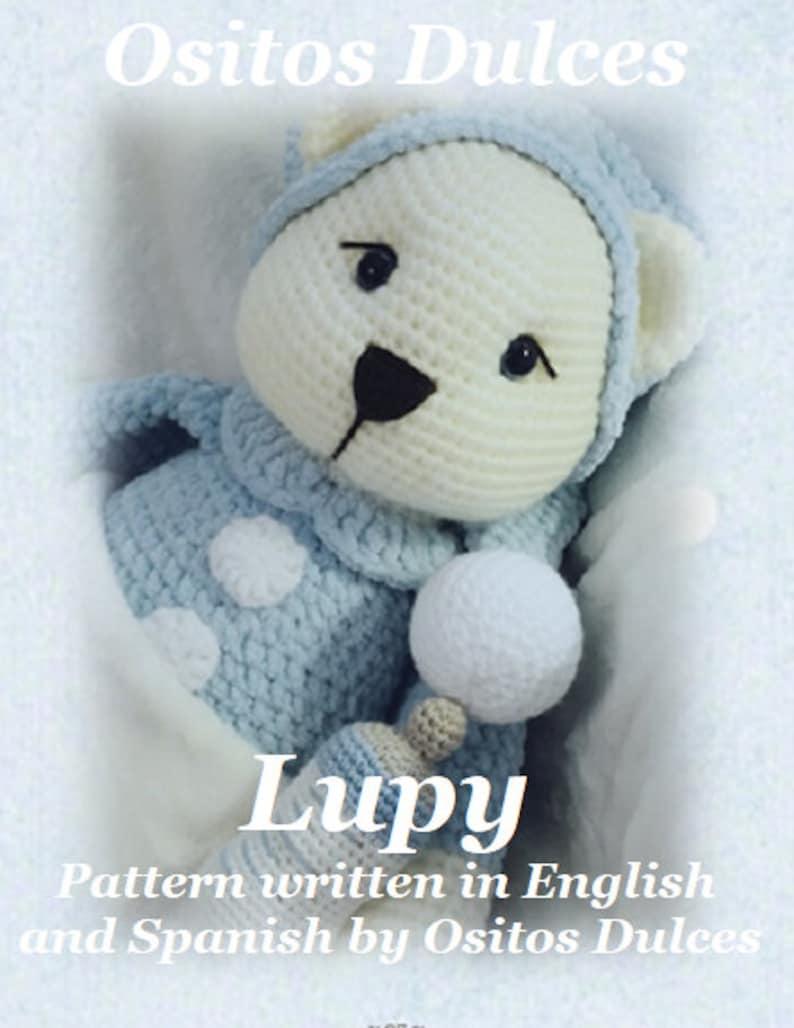 PATTERN LUPY Amigurumi Pattern  in English
