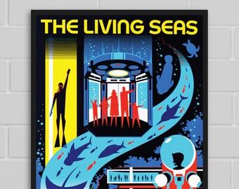 Disney EPCOT Living Seas Pavilion Blueprint  3053