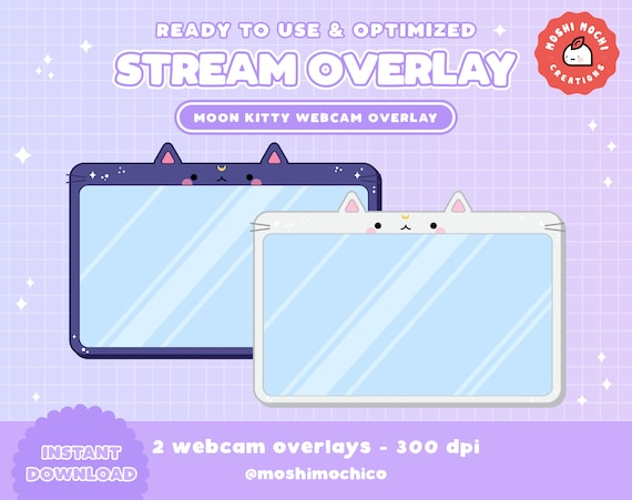 Webcam cute customize your