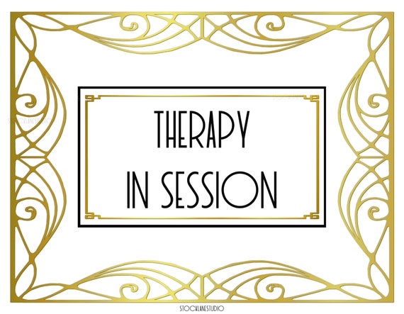 Therapy In Session Office Door Sign Diy Counseling Download Wall Art Spa Therapist Do Not Disturb Notice Jpg Pdf 4x6 11x14 14x18