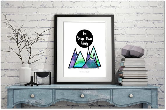 Office Motivational Print Wall Art Home Decor Inspirational Wall Art Gift For Housewarming In A World Where You Can Be Anything Be Kind Posters With Inspirational Quotes