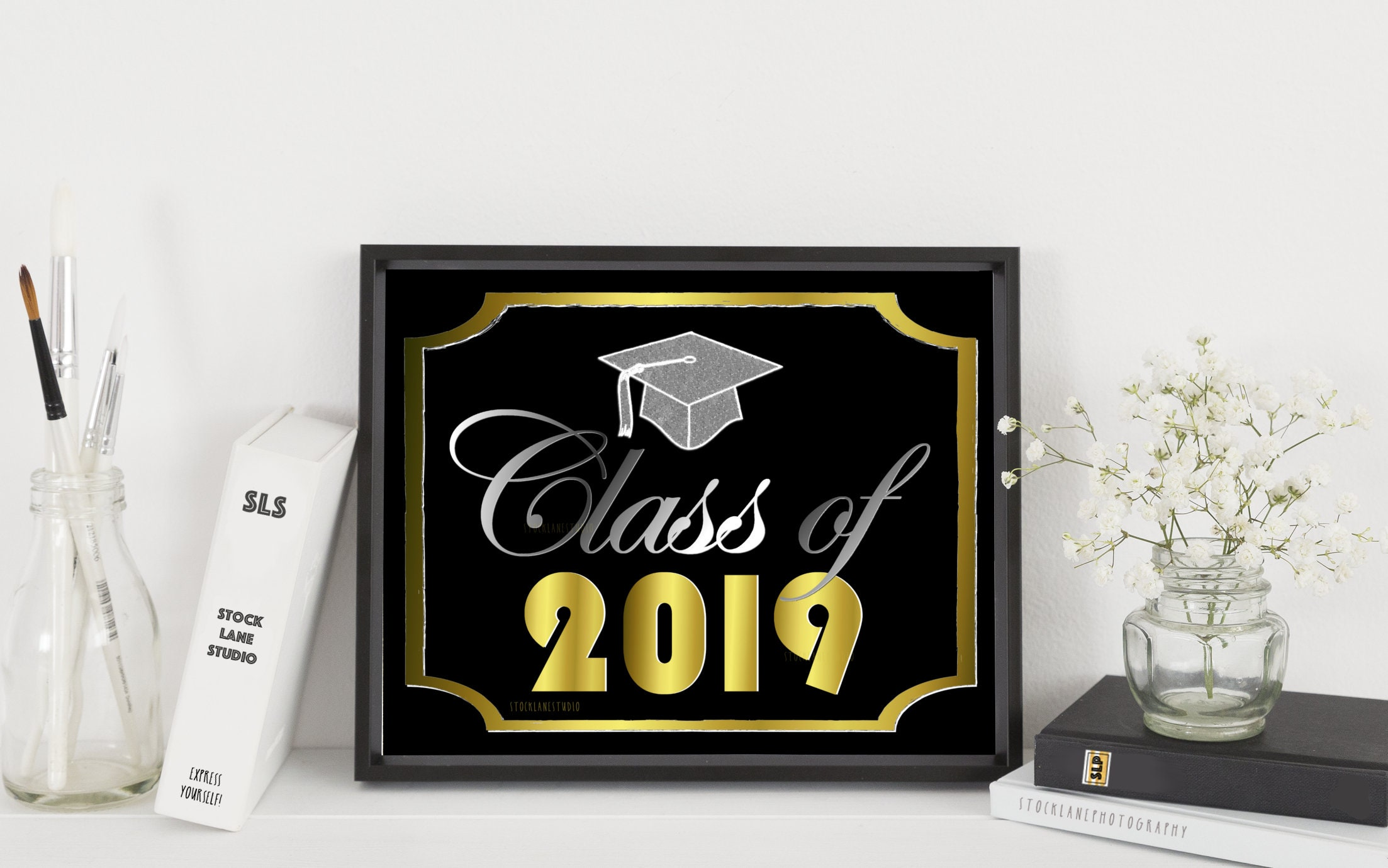 This is a picture of Gorgeous Printable Graduation Decorations