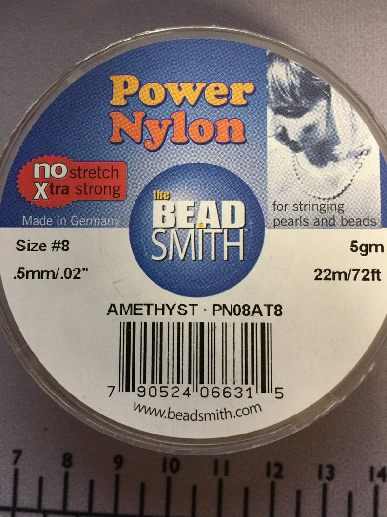 72ft Size #8 Griffin Nylon Size FFF Amethyst J--PN08AT8