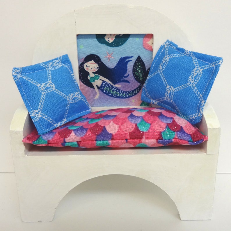 Swell Mermaid Doll Bench 1 6 Doll Furniture Barbie Gmtry Best Dining Table And Chair Ideas Images Gmtryco
