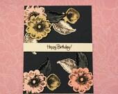 Floral birthday cards- Ha...
