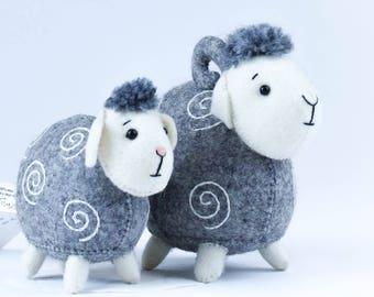 Wool Felt Sheep
