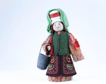 Kyrgyz Traditional Doll