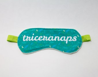 Triceranaps Sleep Eye Mask