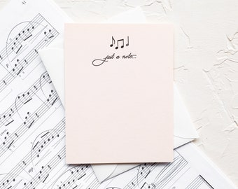 Piano Custom Monogram Musical Note Cards Symphony MusicianMusic TeacherDancerMusical Staff Band Personalized Music Cards Orchestra