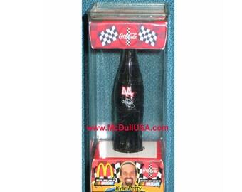 "Kyle Petty # 44 Coke Coca-Cola racing car family team Miniature mini bottle 3"""