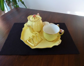 Tiger Lily Breakfast Set ... Yellow Tiger Lily ... Beautiful Fresh Colours  ... Collectible China 17375eaf5c