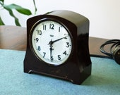 Bakelite Clock, 1940 39 s Smiths Sectric Clock, Working, Home Decor