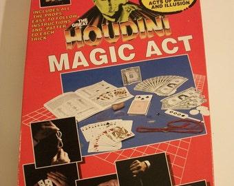 Vintage Houdini Magic Act Illusion Kit #4591 by AMAV- MISB