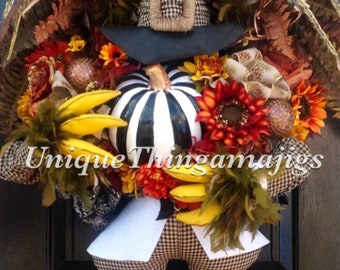 Reserved For Kimberly G. Only!! FINAL Quantities Listed For 2021!!! Thanksgiving Turkey Wreath
