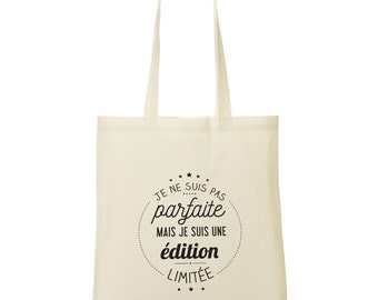 Tote bag I'm a limited edition