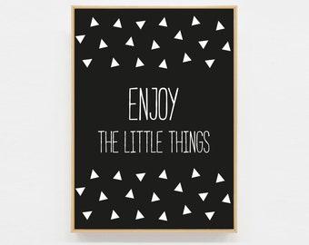 Postcard Enjoy the little things