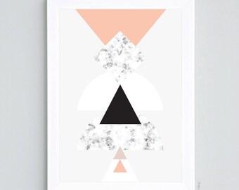 Scandinavian triangle - A4 size
