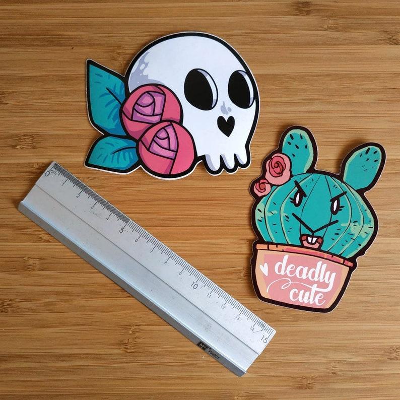 Vinyl Stickers various models Deadly cute