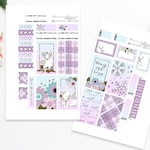 Winter Sticker Mini Kit | Warm & Cozy | Printable Planner Stickers | Classic Happy Planner