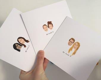 Personalised Valentines/Engagement/Anniversary/Celebration Card