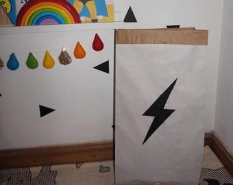 MEDIUM-Lightening-Bolt-Paper-Storage-Bag