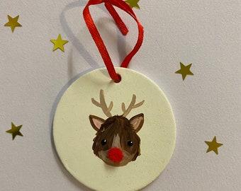 Clay-reindeer-christmas-hanging