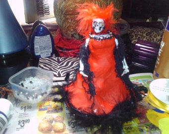 Day Of Dead Doll U Pick Color And Style