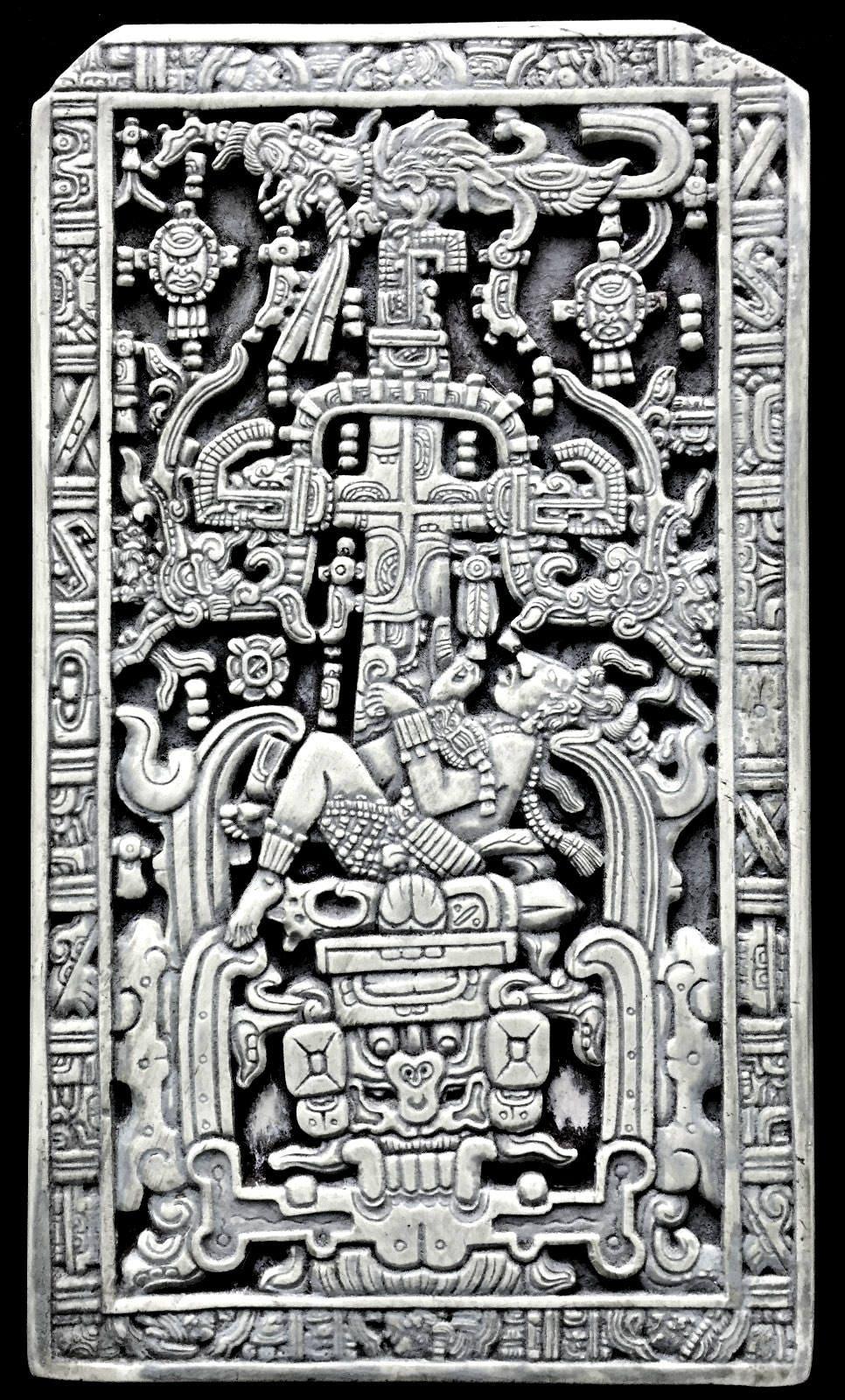 History Aztec Mayan Sarcophagus Of King Kinich Janaab