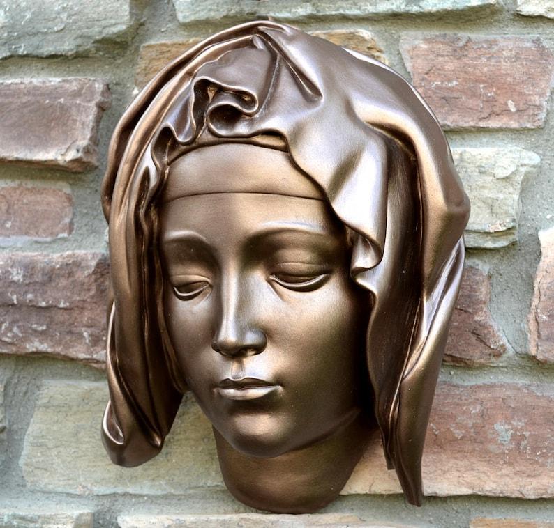 Museum Michelangelo Pieta Statue Sculpture Bust life size  cc1e1af1d29