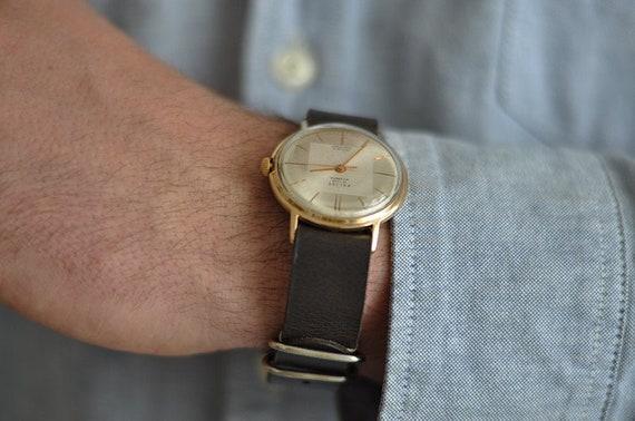 """Soviet watch """"Poljot"""" , Signal watch, Mens watch,"""