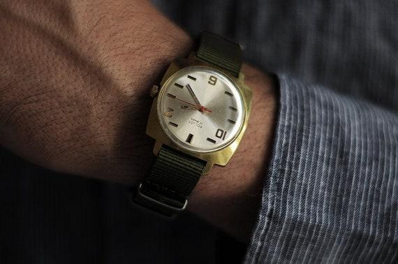 "Rare Soviet watch ""Poljot"" , Mens watch, Russian w"