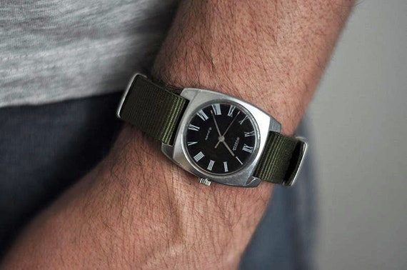 "Soviet watch ""Wostok"" , Mens watch, Russian watch,"