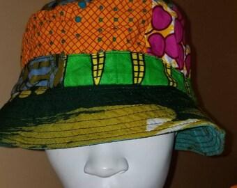 04a7d41fea8 African Print Bucket Hat